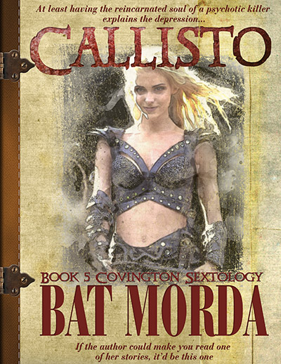 Callisto by Bat Morda. Book 5 of the Covington Sextology. At least having the soul of a reincarnated psychotic killer explains the depression... If the author could make you read one of her stories, it'd be this one.