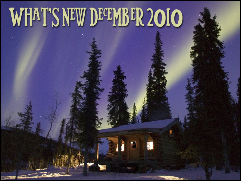 What's New December 2010