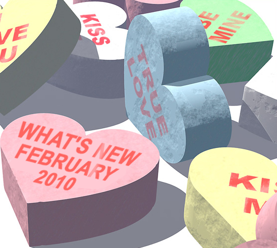 What's New December 2009