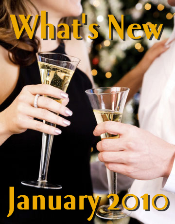 What's New January 2010