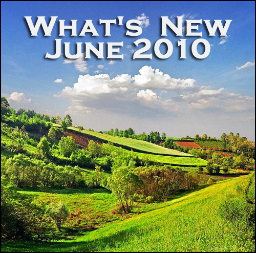 What's New June 2010